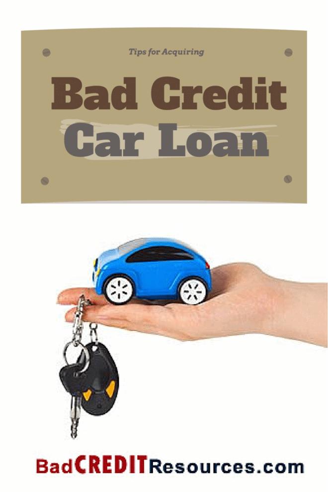 Loan Secured On Car Bad Credit