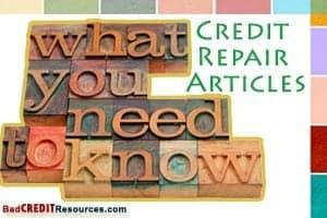 credit repair article