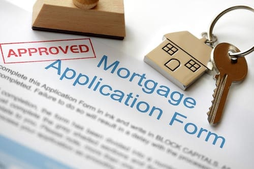 approved mortgage applicartion