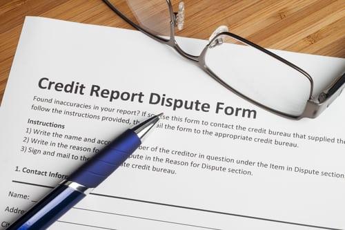 credit card dispute