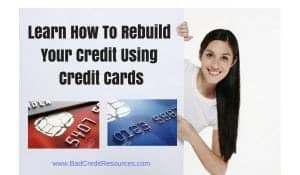 rebuild your credit with secured credit cards
