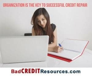 Stay Organized When Writing A Credit Dispute Letter