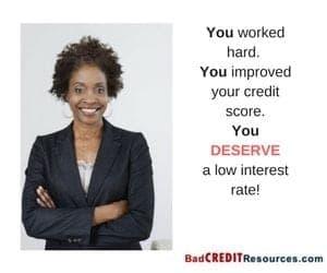 Refinance your bad credit auto loan