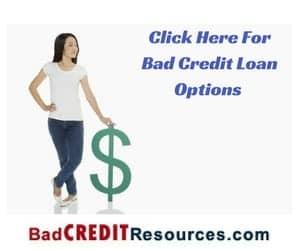Bad Credit Loan Options