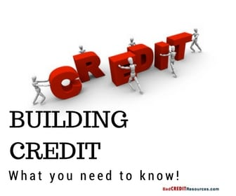 how to build a strong credit history