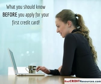 what you should know before you apply for your first credit card