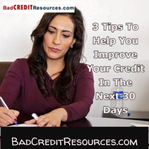 Want to give your credit score a quick boost? Here are 3 things you can do TODAY to start seeing an improved credit score in 30 - 60 days.