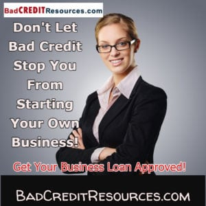 Owning a business isn't just for people with good credit! With the proper planning and working with the right lenders, your business can be approved for a business loan despite having bad credit!