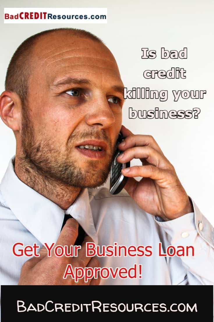 Need to expand your business but because you have bad credit you keep getting turned down by your bank? Click here to learn how and where to find bad credit business loans!