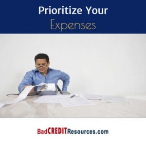 prioritize your expenses