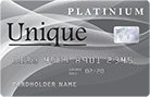 Unique Platinum card 138x90